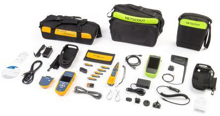 Fluke netscout ACKG 2-lrat 2000-kit aircheck g2 Kit et linkrunner 2000 Kit