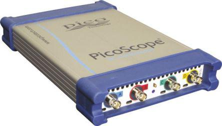 Picoscope 6404D                                              Pico Technology 6000 Series Picoscope 6404D Digital Oscilloscope, 4 Channels, 500MHz Colour With UKAS Calibration