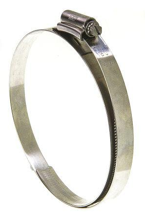 HGS180BP                                              HI-GRIP Stainless Steel with Slotted Hex Head Hose Clip Worm Drive, 13mm Band Width, 150mm - 180mm Inside Diameter