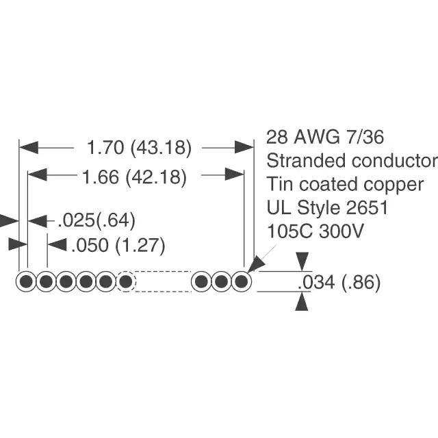 AWG28-34/G/300
