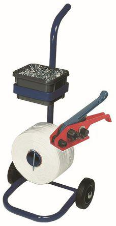 912-9197                                              RS Pro Galvanised Metal Strapping kit 725kg, 500mm White