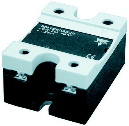 RM1E23AA50                                              Carlo Gavazzi 50 A rms Solid State Relay, Analogue, Chassis Mount, 280 V Maximum Load