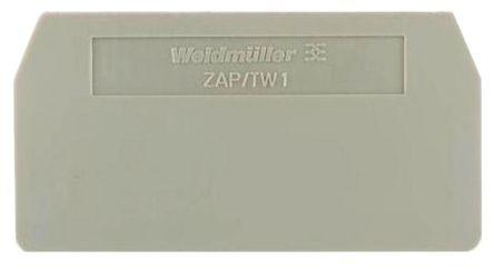 Weidmuller ZAP/TW ZDU1.5/4AN -1776090000, End Plate/Partition Plate, Z Series
