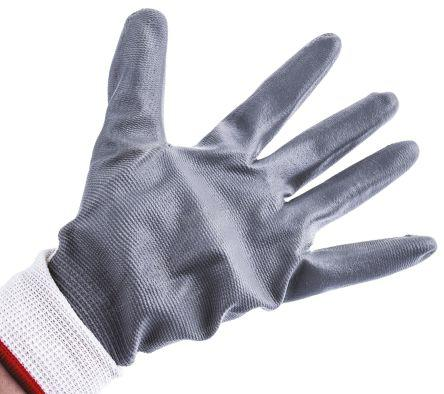 Pack Of 5 Polyco 8803 Polyflex White Gloves Size 9