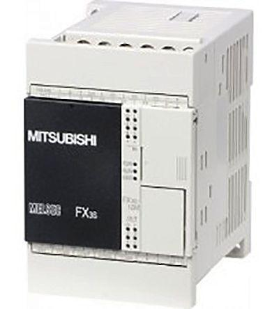 FX3S-10MR-DS                                              Mitsubishi FX3S PLC CPU, Ethernet, ModBus Networking Mini USB B Interface, 4000 Steps Program Capacity