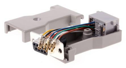 Rotronic D-sub, RJ45 Adapter, 1 Port