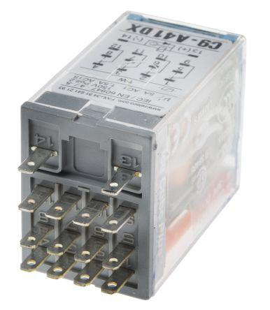 Turck 4PDT Plug In Non-Latching Relay, 24V dc Coil, 5 A