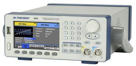 BK4065                                              BK Precision BK4065 Arbitrary Waveform Generator 160 (Sine) MHz, 40 (Square) MHz