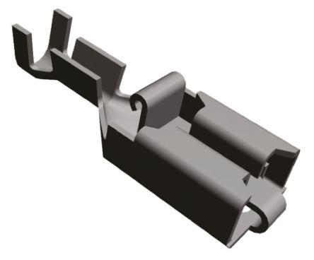 TE Connectivity Universal MATE-N-LOK Crimp Terminal, Female, 0.5mm² to 2mm², 20AWG to 14AWG