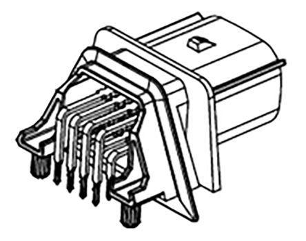 4 Pin Molex Male Connector