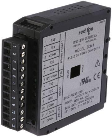 Red Lion RS232 to RS422/485 Signal Conditioner,