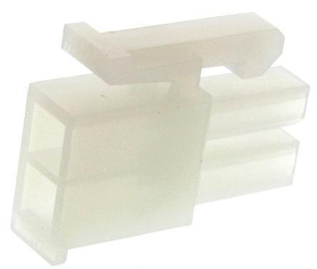 Molex Mini-Fit Jr 5557, 4.2mm Pitch, 2 Way, 2 Row Female Connector Housing
