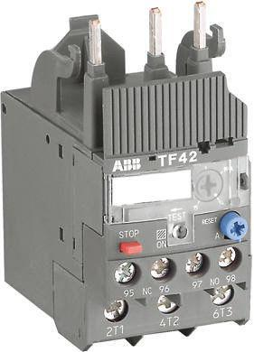 TF42-2.3                                              ABB Thermal Overload Relay NO/NC, 1.7 → 2.3 A, 2.3 A, 2 W