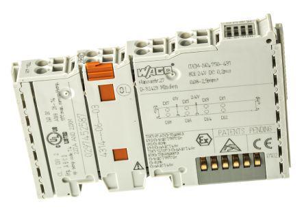 750600 | Wago | Wago I/O SYSTEM 750 PLC I/O Module, 100 x 12 x 64 mm