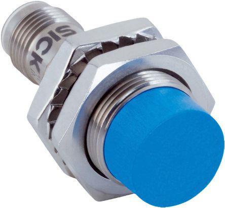 IMB18-12NPPVC0K                                              Sick, M18 x 1, IO-Link PNP Inductive Sensor 45mm Length, 10 → 30 V dc supply voltage , IP68, IP69K Rating