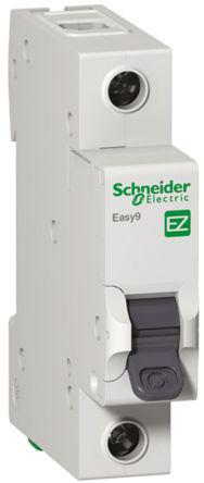 Schneider Electric 32A 1 Pole Type C Miniature Circuit Breaker Easy 9 EZ9