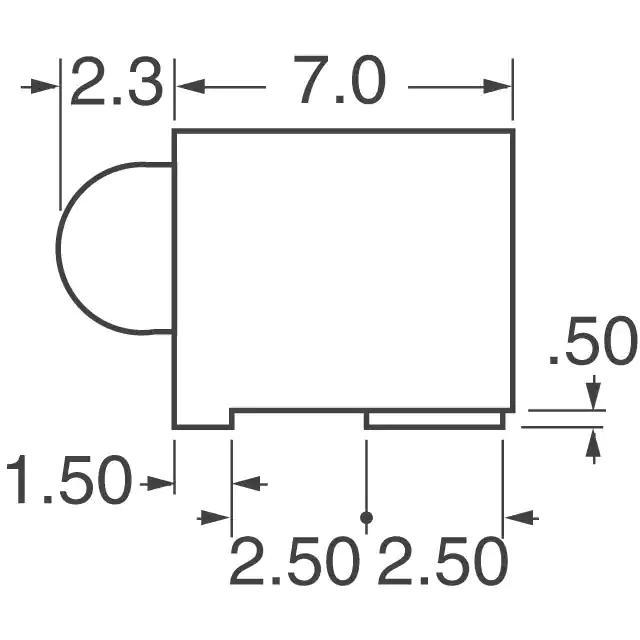 Lumex Opto/Components Inc. SSF-LXH305GD-TR