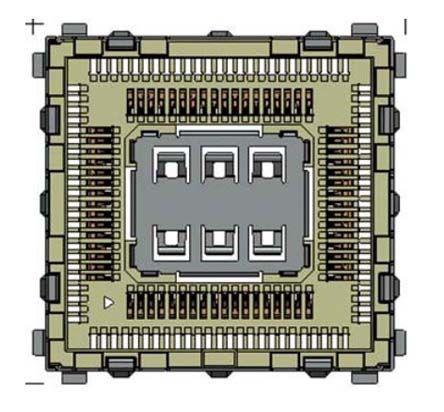 HL6+8 SOCKET                                              GSM & GPRS Module Socket HL6+8 SOCKET
