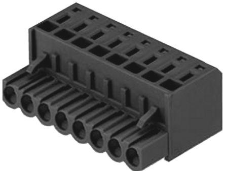 BLZF 5.08/13/180 SN -1707800000                                              Weidmuller BL Non-Fused Terminal Block, 13 Way/Pole, Crimp Terminals, 26 → 12 AWG Cable Mount, PBT, 400 V