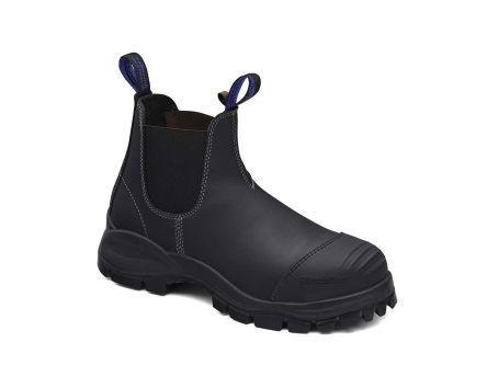 990140                                              Blundstone 990 Black Steel Toe Cap Men Safety Boot, UK 14, EU 49, US 14.5