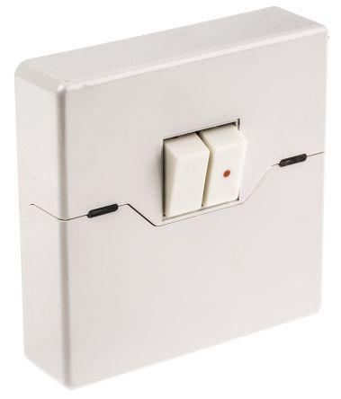 ZV215 | Theben / Timeguard | White Wall Mount Rocker Light
