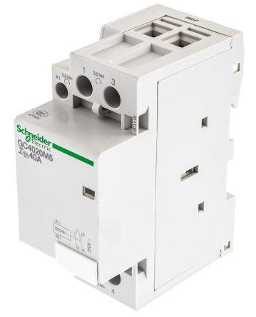 GC4020M5                                              Schneider Electric Tesys GC GC40 2 Pole Contactor, 2NO, 40 A, 240 V ac Coil