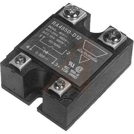 Carlo Gavazzi 50 A Solid State Relay, Zero, Panel Mount, 530 V ac Maximum Load