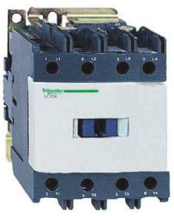 LP1D65008FD                                              Schneider Electric Tesys D LP1D 4 Pole Contactor, 2NO/2NC, 80 A, 110 V dc Coil