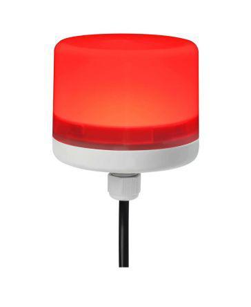 199-9733                                              LED Beacon Lamp, Red, PC, 24 V dc