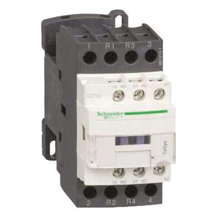 LC1D0986ED                                              Schneider Electric Tesys D LC1D 4 Pole Contactor, 2NO/2NC, 20 A, 48 V dc Coil