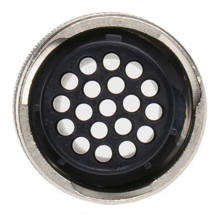 192990-5450/RS468484.0000                                              ITT Cannon QM Series Female Cable Mount Connector, 19 contacts Socket
