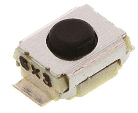 IP40 Tact Switch, SPST-NO 50 mA@ 12 V dc