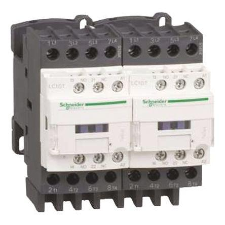 LC2DT20FD                                              Schneider Electric Tesys D LC2D 4 Pole Contactor, 110 V dc Coil