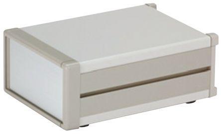 MS149-37-35G                                              , Aluminium & Steel Project Box, Grey, 350 x 370 x 149mm