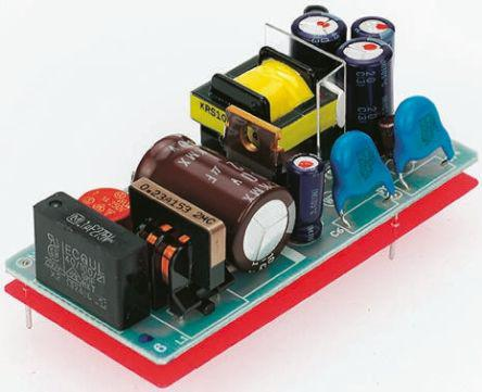 TOM 25112                                              TRACOPOWER 25W Embedded Switch Mode Power Supply SMPS, 2.1A, 12V dc