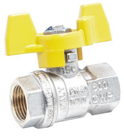733-5271                                              RS Pro High Pressure Ball Valve Brass 3/8 in BSPP 2 Way