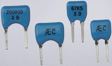 Alpha FLC Series Radial Metal Film Fixed Resistor 10kΩ ±0.05% 0.25W ±5ppm/°C
