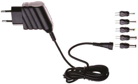 N2EFSW3-6W-9V                                              Egston Plug In Power Supply 9V dc, 670mA Level V 1 Output,