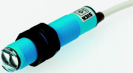 VT18-2T1112                                              Sick Diffuse Photoelectric Sensor 2 → 100 mm Detection Range Triac Barrel Style IP67 VT18-2T1112