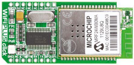 MIKROE-958   MikroElektronika   Bluetooth click mikroBUS