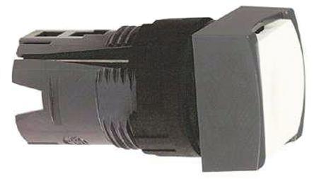ZB6CA1                                              16mm Push button Head Square White