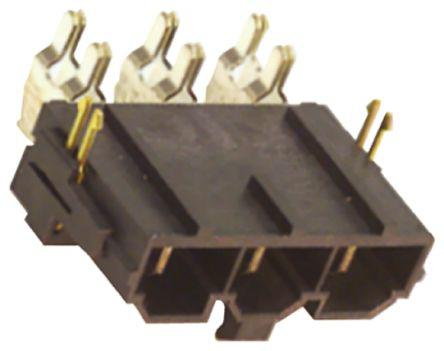 Molex TermiMate 505071, 1 Way, 1 Row, Right Angle PCB Header, Surface Mount