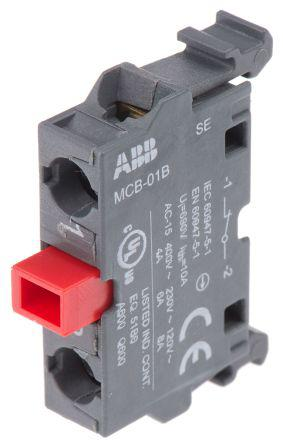 ABB Legend Plate for use with 70 mm Emergency Stop