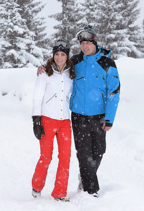 Prince William and Kate's Skiing Holiday
