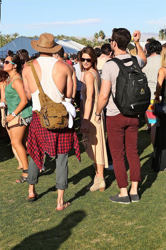Coachella Day 1: Celeb Sighting