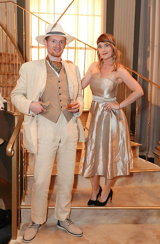 The Great Gatsby opening night at Gate Theatre