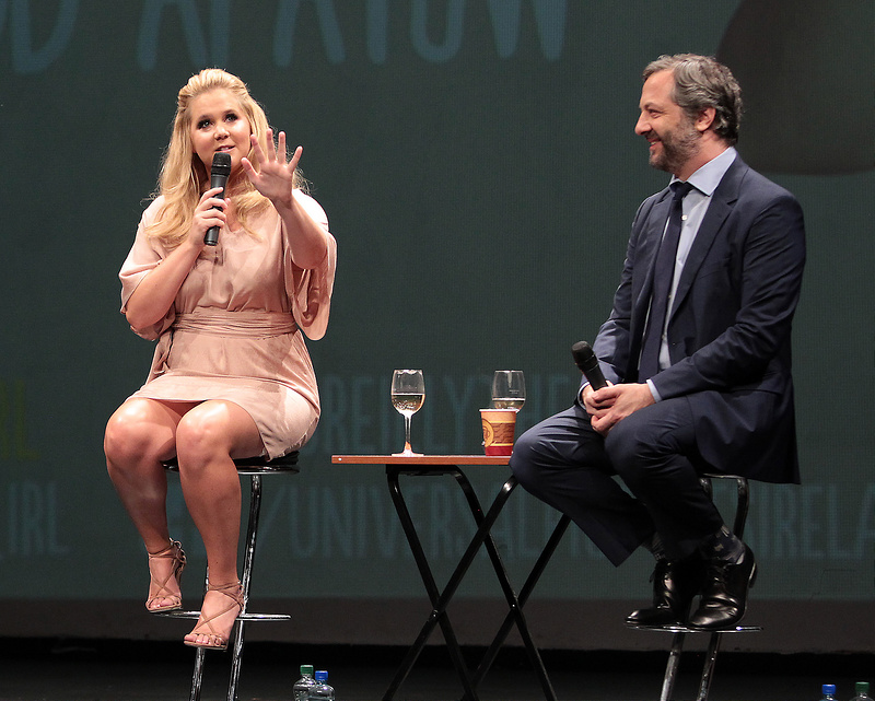 'Trainwrecks Collide: Panti Bliss live Q&A with Amy Schumer and Judd Apatow