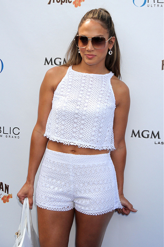 Jennifer Lopez celebrates her world tour
