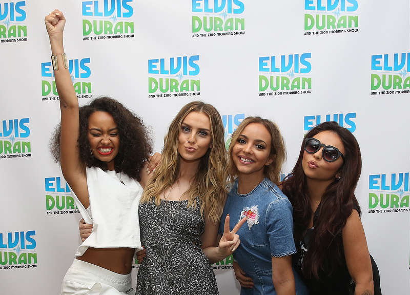 Little Mix perform on 'The Elvis Duran Z100 Morning Show