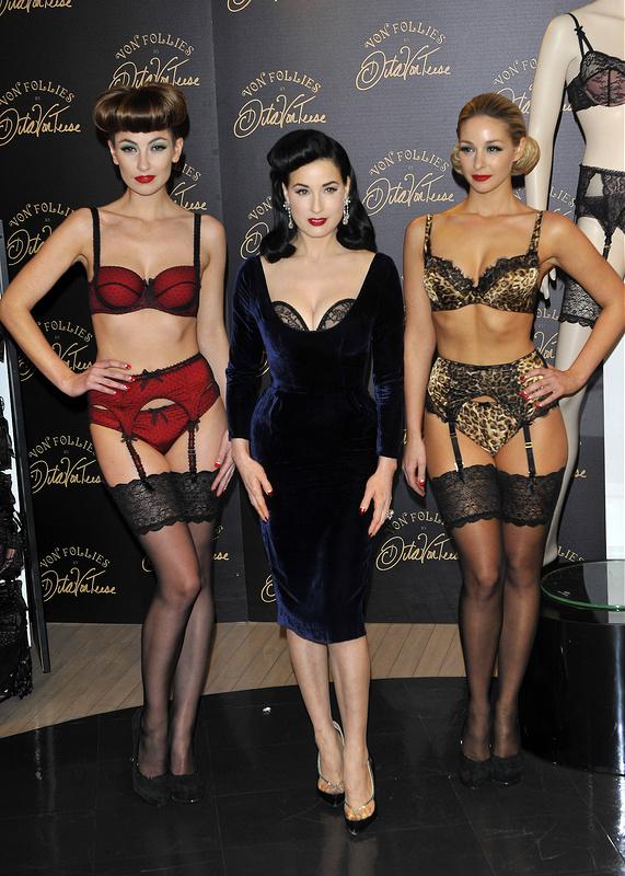 5d16501b20b7 Dita Von Teese launches her Von Follies lingerie - Entertainment.ie